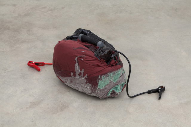, 'Untitled (chest pack),' 2014, Casey Kaplan