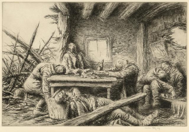 Kerr Eby, 'The Last Supper', 1937, Stone + Press Gallery
