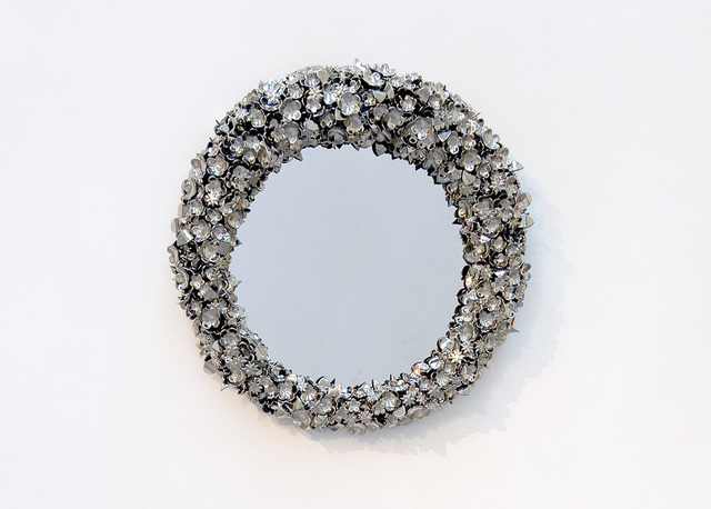 , 'Mirror 'Mirror Mirror' Platinum,' 2013, David Gill Gallery