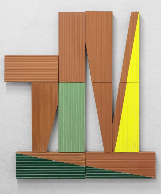 Oscar Abraham Pabon, 'Remanente 5', 2018, Installation, Acrylic on clay bricks, Dot Fiftyone Gallery