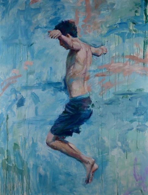 , 'Jump,' 2019, George Billis Gallery