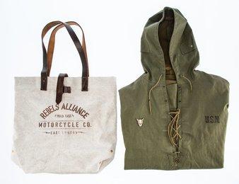 Rebel Alliance Bag and Navy Jacket