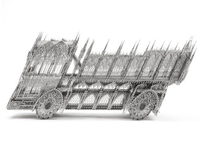 , 'Slanted Dum Truck,' 2012, KEWENIG