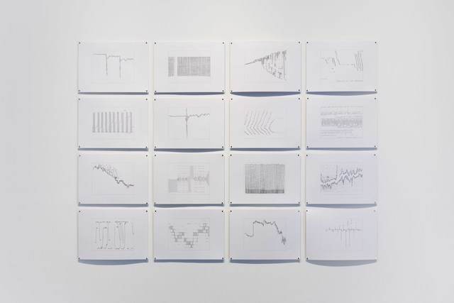 , 'A timeframe of one second is a lifetime of trading I,' 2013, Carroll / Fletcher