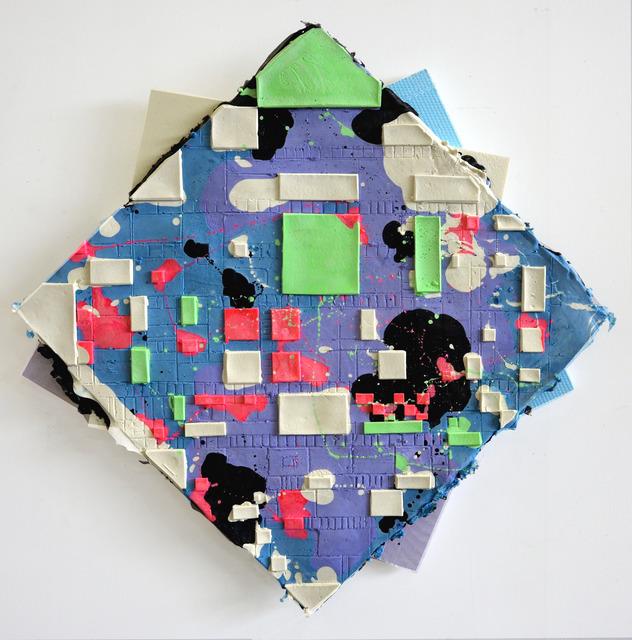 , 'Last Boogie Woogie (Purple, Blue, Green),' 2017, Galerie Fons Welters