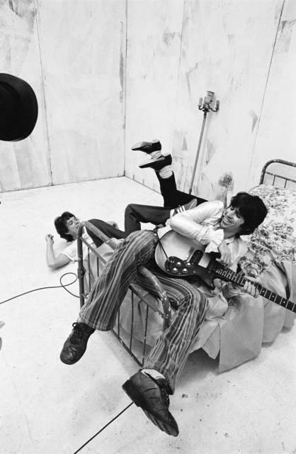 , 'Mick, Keith and Ronnie's Feet, Video Shoot, New York,' 1978, ElliottHalls