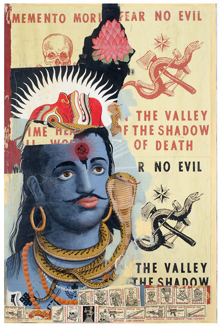 , 'Shiva Contemplates Evil,' 2015, Black Book Gallery