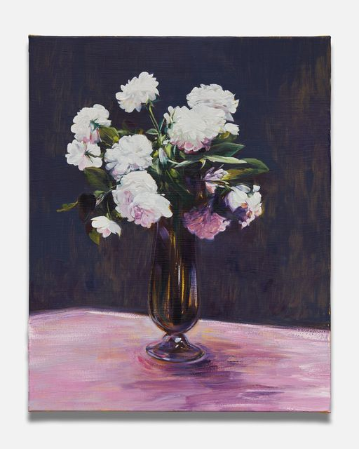 , 'White Roses (after Fantin-Latour),' 2018, Almine Rech