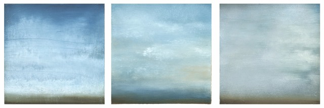 , 'Summer Clouds-Triptych,' 2014, Seager Gray Gallery