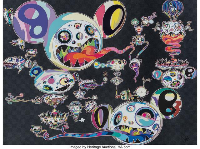 Takashi Murakami, 'Hands Clasped', 2015, Heritage Auctions