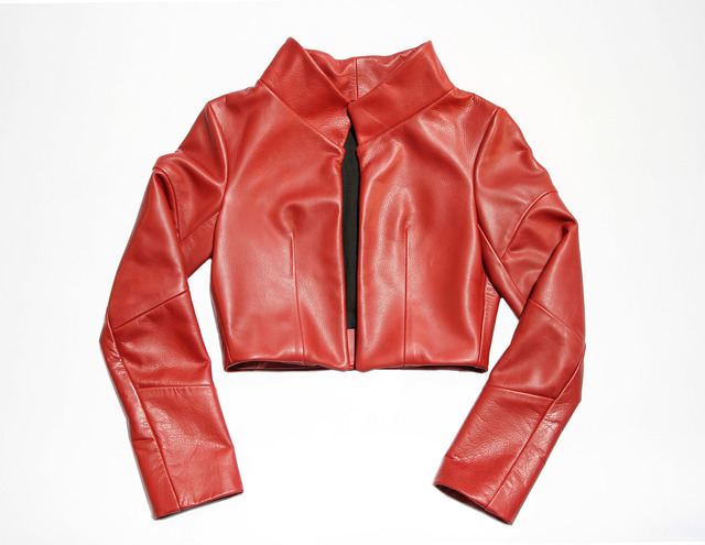 , 'Cast Leather (Red),' 2013, The NWBLK