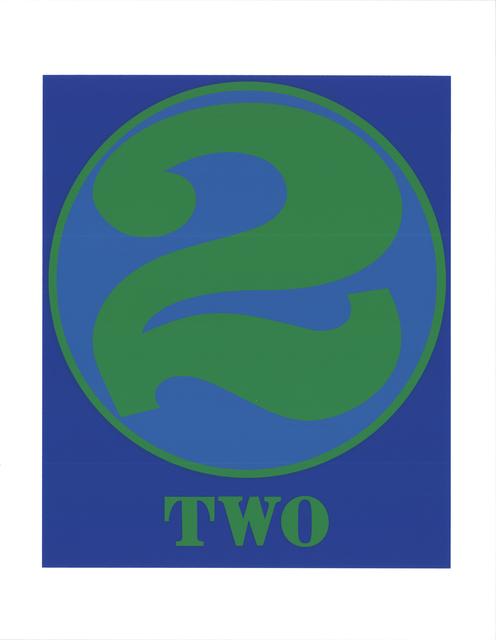 Robert Indiana, 'Two', 1997, ArtWise