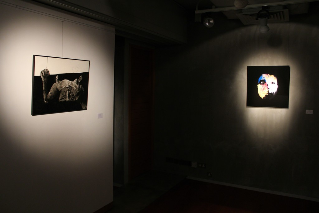 Make Believe Exhibition view at Mur Nomade, Hong Kong