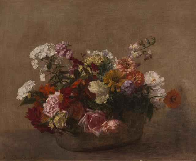 , 'Nature Morte avec Fleurs,' ca. 1900, Taylor   Graham
