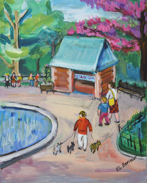 Elizabeth Borisov, 'Conservatory Water Place M.C.P.', 2018, Fountain House Gallery