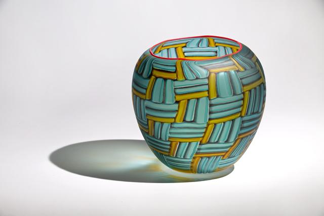 , 'Silver Grass Basket,' , Blue Rain Gallery