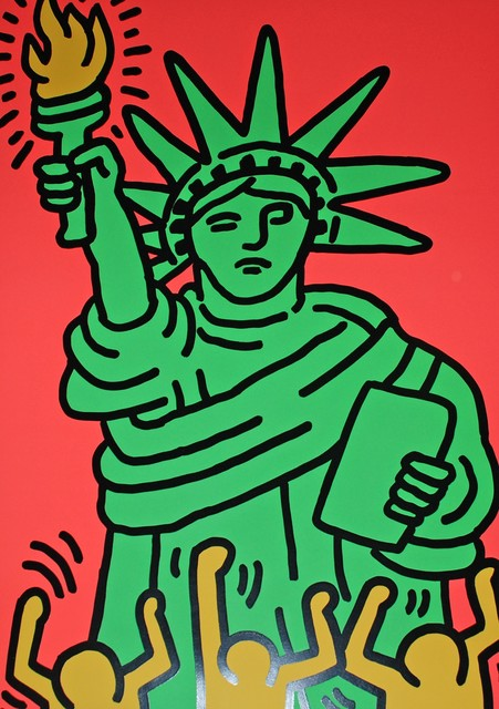 Keith Haring, 'Statue of Liberty', 1986, Reuben Colley Fine Art