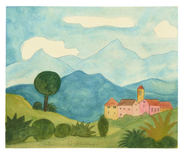 , 'Tessiner Landschaft,' , Ludorff