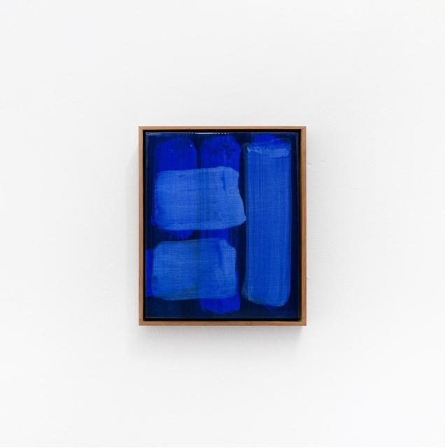 Kitikong Tilokwattanotai, 'A Blue note ', 2020, Painting, Acrylic and lacquer on canvas, 193 Gallery