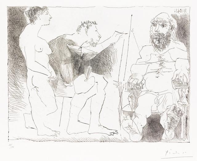 , 'Peintre au Travail (Painter at Work),' 1963, Masterworks Fine Art