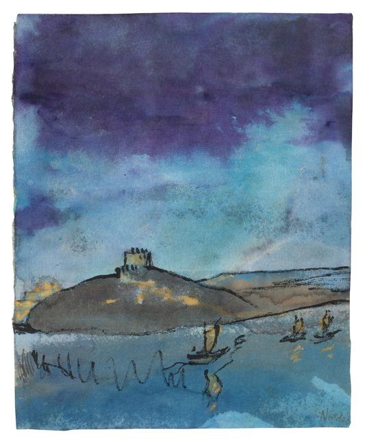 , 'Küstenlandschaft mit Segelbooten,' 1938-1945, Galerie Utermann