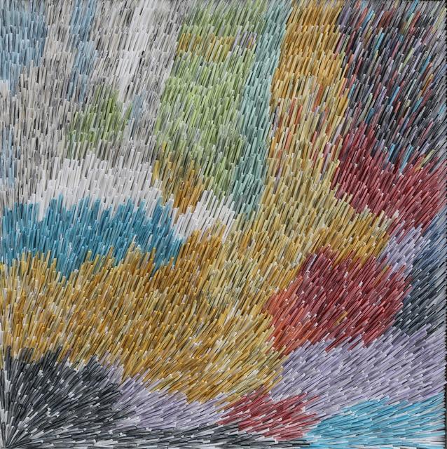 , 'Lines of Travel XXXXIII (43),' 2015, JanKossen Contemporary
