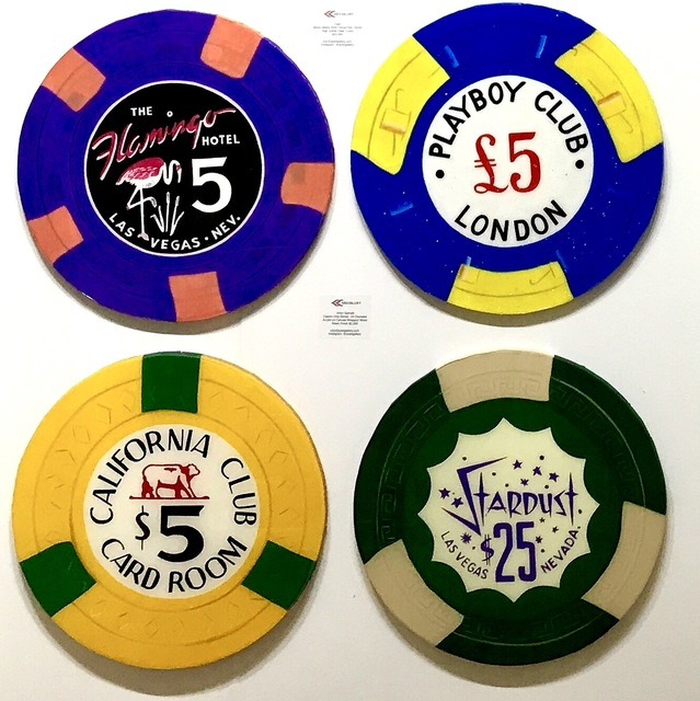 , 'Casino Chip Series - Multiple,' 2017, ACED GALLERY