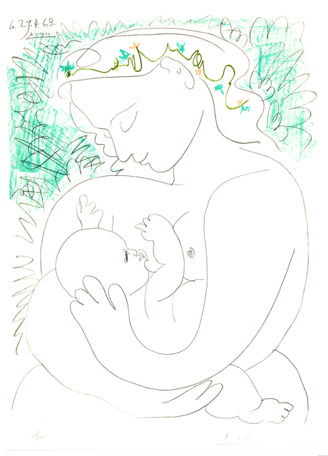"""Pablo Picasso, 'Lithograph """"Grand Maternity"""" after Pablo Picasso', 1963, Galerie Philia"""