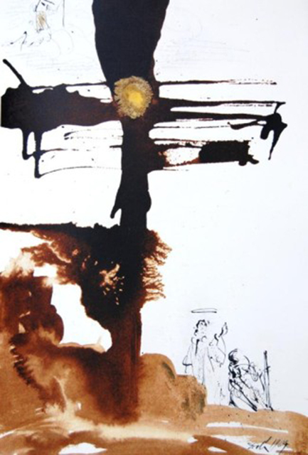 Salvador Dalí, 'Come, Lord Jesus', 1967, Print, Original colored lithograph on heavy rag paper, Baterbys