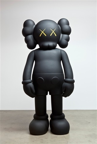 KAWS, '4 Ft Companion (Black)', 2007, Design/Decorative Art, Cast Vinyl, Lush Art Agency
