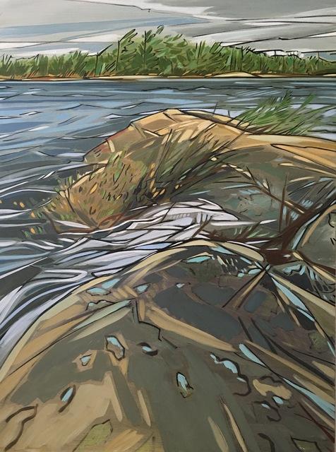 , 'Georgian Bay Rocks,' , Loch Gallery