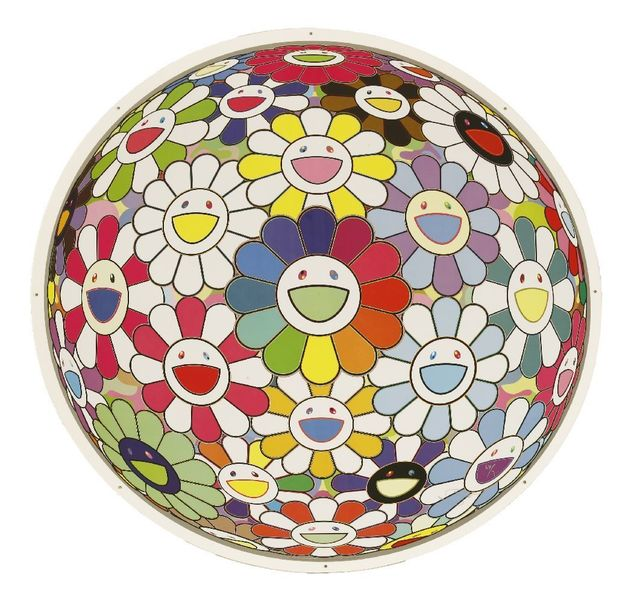 Takashi Murakami, 'Flowerball: Want To Hold You', 2015, Print, Offset lithograph printed in colours with high gloss varnish, Sworders