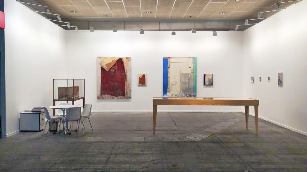 View of Luisa Strina's booth at ARCOmadrid, Dialogues section