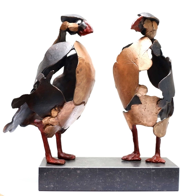 , ''Puffins',' 2018, Galerie Terbeek