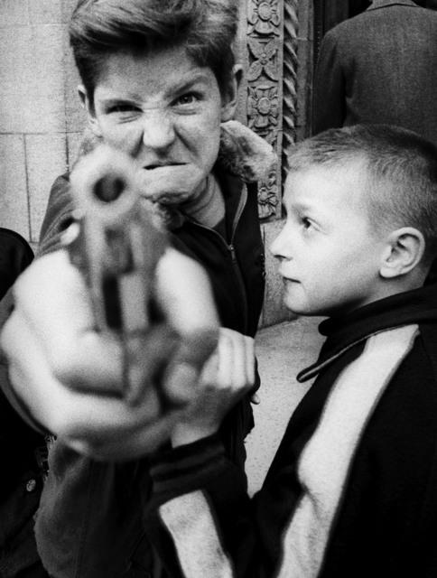 , 'Gun 1, New York,' 1955, Galerie de la Béraudière