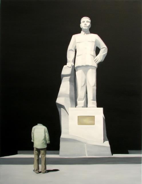 , 'Black Painting No.57,' 2008, Primae Noctis Gallery
