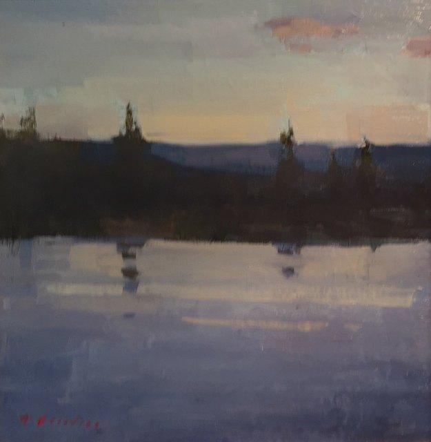 , 'Evening Reflection,' 2018, Meyer Vogl Gallery