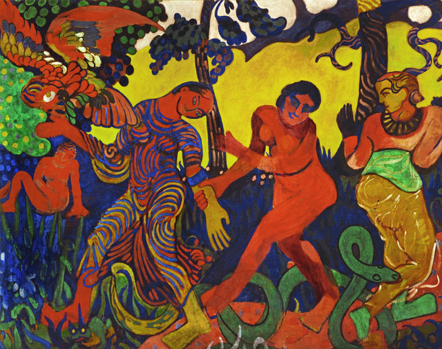 André Derain, 'The Dance', 1906, Painting, Oil on canvas, Erich Lessing Culture and Fine Arts Archive