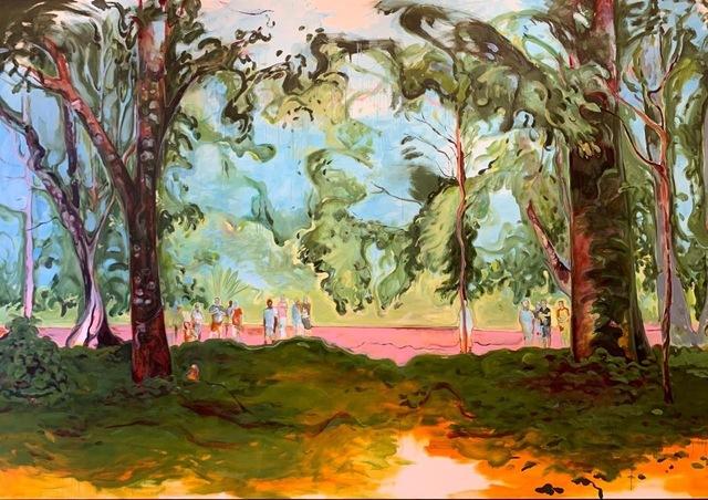 Maria Klabin, 'Monkey', 2020, Painting, Oil on canvas, Galerie Ron Mandos