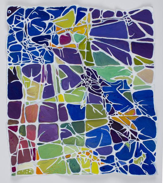 , 'Blue Corners,' 2013, Edward Cella Art and Architecture