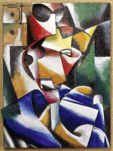 , 'Portrait of a Lady (Plastic Drawing),' 1915, Fondation Beyeler