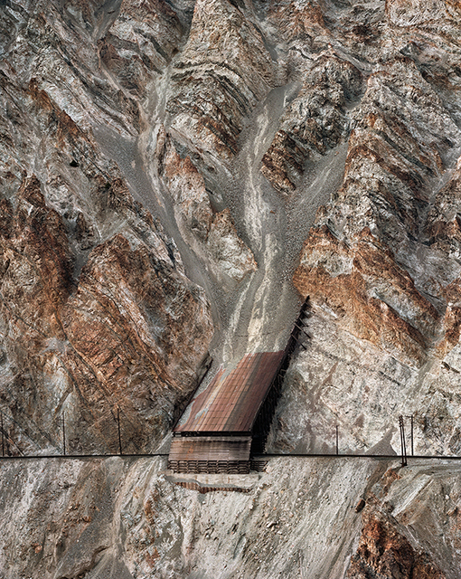 , 'Railcuts #13, C.N. Track, Thompson River, British Columbia,' 1985, Nicholas Metivier Gallery