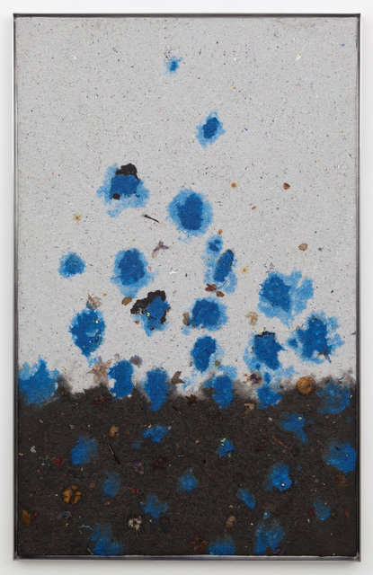 , 'Blue seeds,' 2014, Casey Kaplan