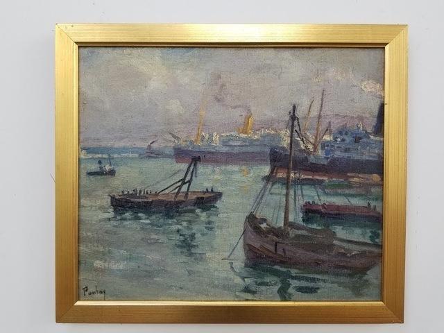 Henry Pontoy, 'Satama', 1937, Tranter-Sinni Gallery