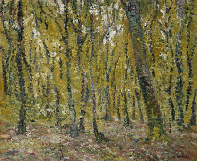 Louis Valtat, 'Sous bois', 1899, HELENE BAILLY GALLERY