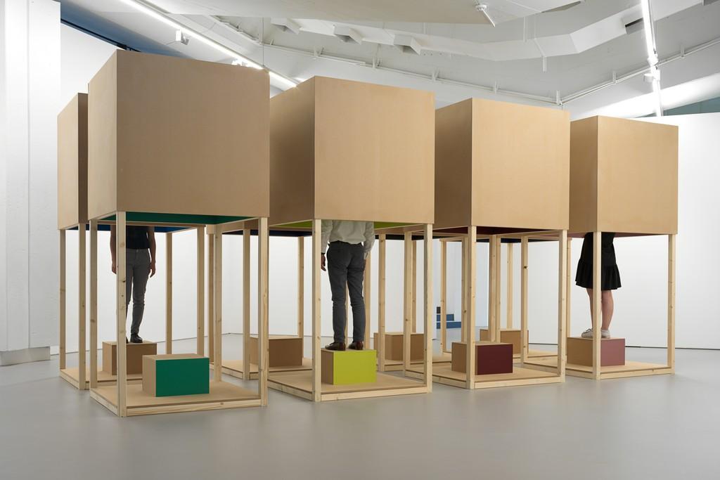 Installation View, Hanged Man, Efremidis Gallery, 26.04.19 - 15.06.19