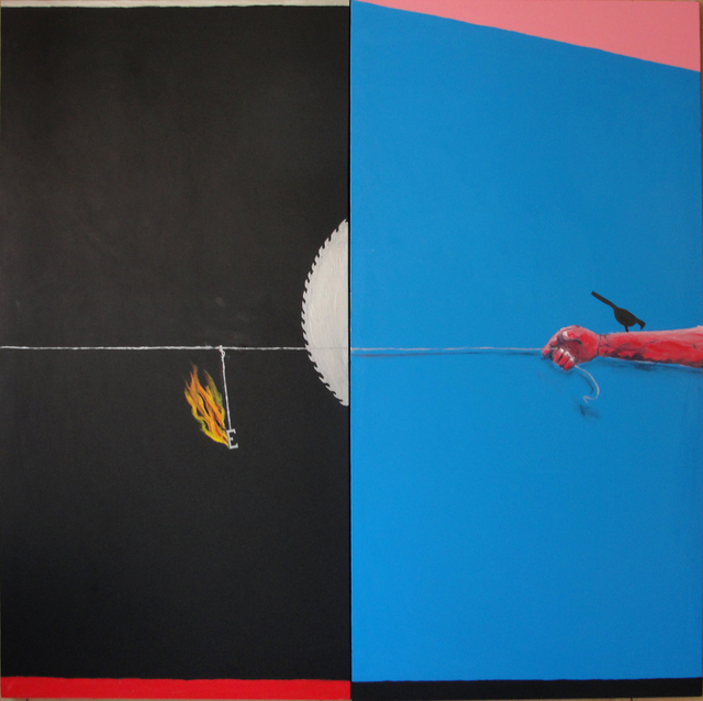 Emmanuel Nassar, 'Inclinação azul', Galeria Millan