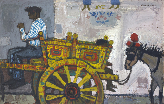 , 'The Sicilian Cart,' ca. 1960, The Scottish Gallery