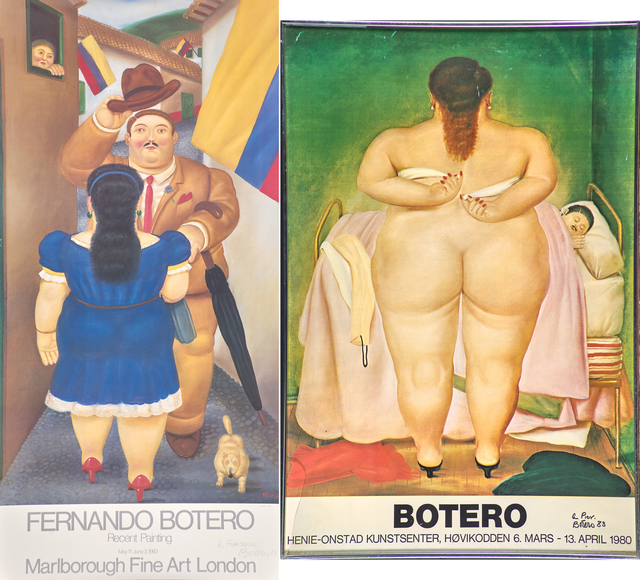 Fernando Botero, 'Two works', Rago