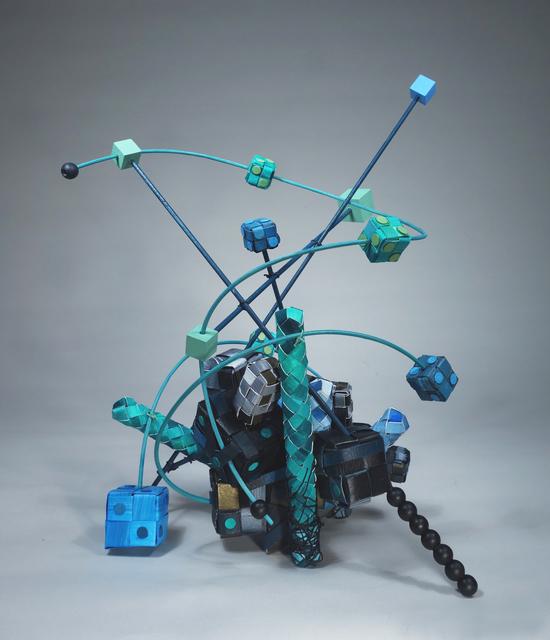 , 'Blue Cosmos,' 2016, Miller Yezerski Gallery